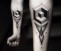 Square Tattoo Meaning 22