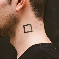 Square Tattoo Meaning 23