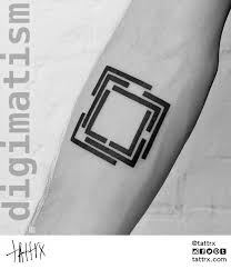 Square Tattoo Meaning 25