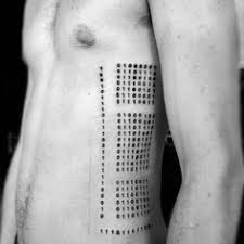 Square Tattoo Meaning 34