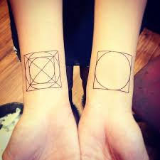 Square Tattoo Meaning 41