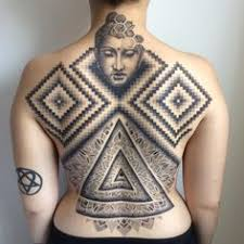 Square Tattoo Meaning 46