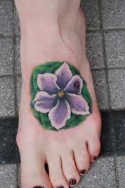 Violet Flower Tattoo Meaning 18