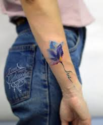 Violet Flower Tattoo Meaning 19