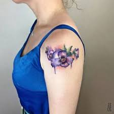 Violet Flower Tattoo Meaning 21