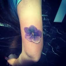 Violet Flower Tattoo Meaning 24