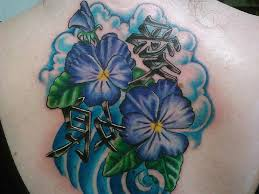 Violet Flower Tattoo Meaning 29
