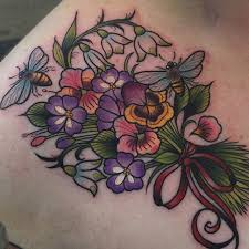 Violet Flower Tattoo Meaning 39
