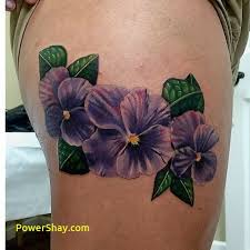 Violet Flower Tattoo Meaning 41