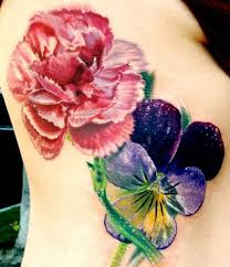 Violet Flower Tattoo Meaning 42