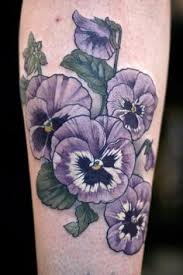 Violet Flower Tattoo Meaning 9
