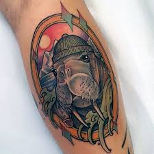 Walrus Tattoo Meaning 32