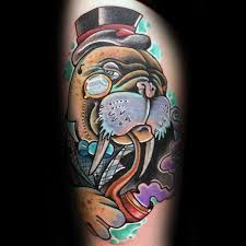 Walrus Tattoo Meaning 34