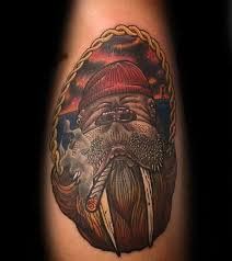 Walrus Tattoo Meaning 40