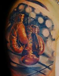 Boxing Glove Tattoo Meaning 1