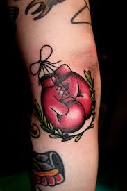 Boxing Glove Tattoo Meaning 10