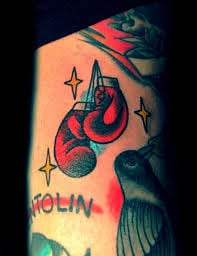 Boxing Glove Tattoo Meaning 14