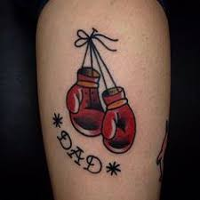 Boxing Glove Tattoo Meaning 27
