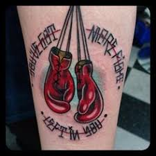 Boxing Glove Tattoo Meaning 30