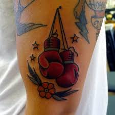 Boxing Glove Tattoo Meaning 41