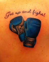 Boxing Glove Tattoo Meaning 42