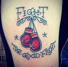Boxing Glove Tattoo Meaning 43