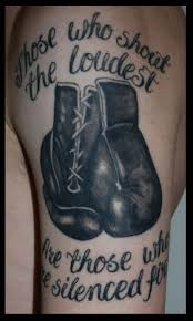 Boxing Glove Tattoo Meaning 9