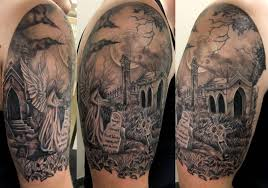 Cemetery Tattoo Meaning 10