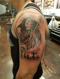 Cemetery Tattoo Meaning 13