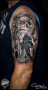 Cemetery Tattoo Meaning 2