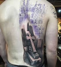 Cemetery Tattoo Meaning 20