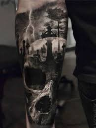 Cemetery Tattoo Meaning 22