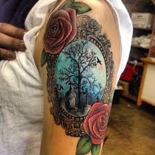 Cemetery Tattoo Meaning 28