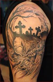 Cemetery Tattoo Meaning 32