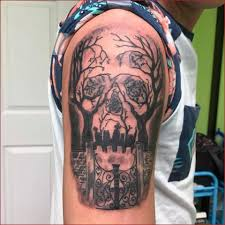 Cemetery Tattoo Meaning 33
