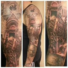 Cemetery Tattoo Meaning 34