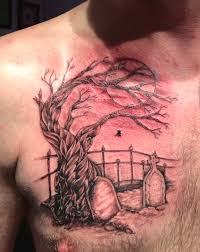 Cemetery Tattoo Meaning 37