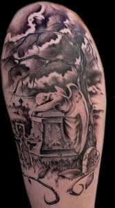 Cemetery Tattoo Meaning 4
