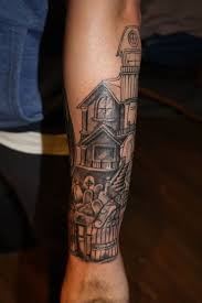 Cemetery Tattoo Meaning 43