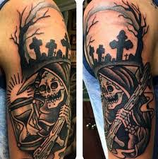 Cemetery Tattoo Meaning 45