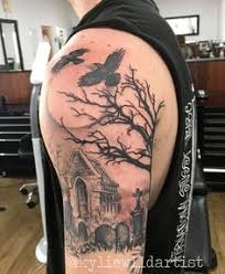 Cemetery Tattoo Meaning 7