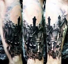Cemetery Tattoo Meaning 8