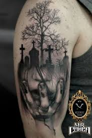 Cemetery Tattoo Meaning 9
