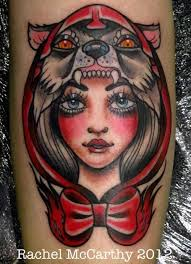 Little Red Riding Hood Tattoo Meaning 1