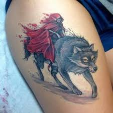 Little Red Riding Hood Tattoo Meaning 13