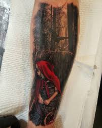 Little Red Riding Hood Tattoo Meaning 14