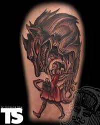 Little Red Riding Hood Tattoo Meaning 18