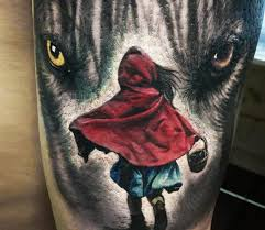 Little Red Riding Hood Tattoo Meaning 22