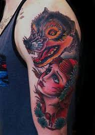 Little Red Riding Hood Tattoo Meaning 29