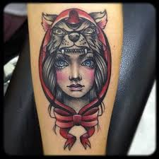 Little Red Riding Hood Tattoo Meaning 33